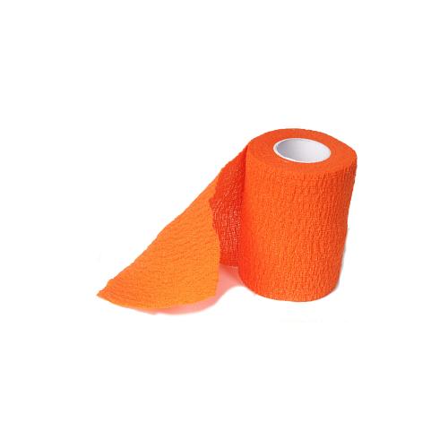 Бинт когезивный оранжевый Ergodynamic (7,5 см*4,5 м) 4003