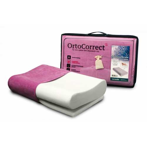 Ортопедическая подушка OrtoSleep Lavanda