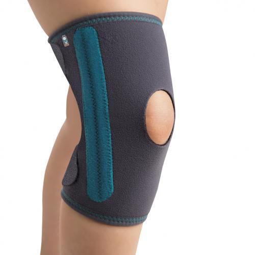 Ортез на колено с пружинными ребрами