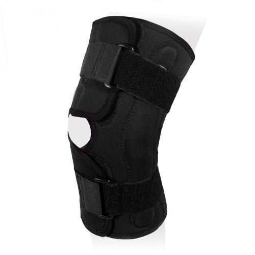 Бандаж на коленный сустав разъемный со съемными полицентрическими шарнирами KS-050