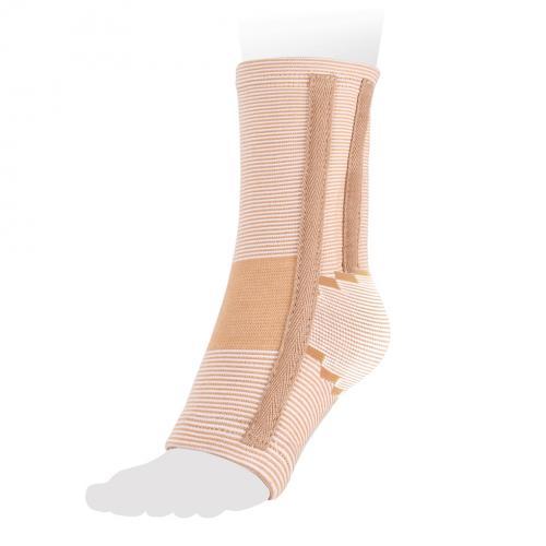 Бандаж на голеностопный сустав эластичный с ребрами жесткости AS-E02