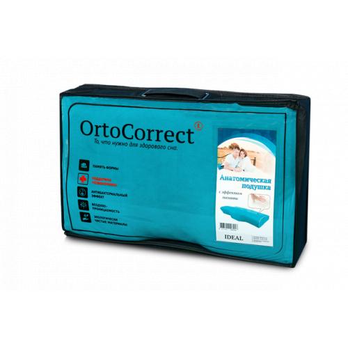 Ортопедическая подушка с выемкой под плечо